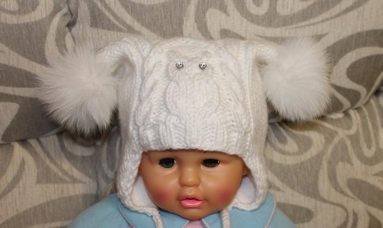 Вязання шапочки для дівчаток спицями та гачком з описом  вязані літні 587bdcb564766