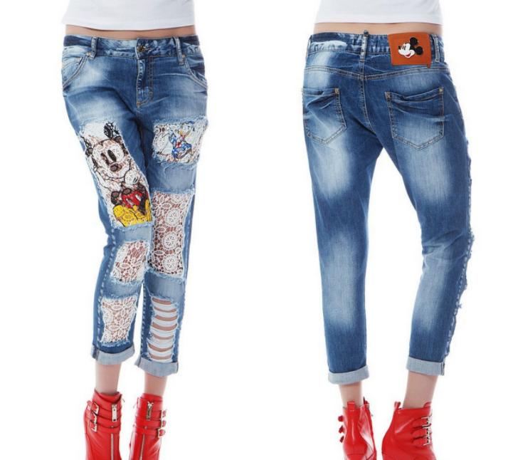 Як зробити красиві дірки і ефект потертості на джинсах своїми руками ... d6fa5caaab98e